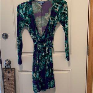 Vera Wang wrap around dress